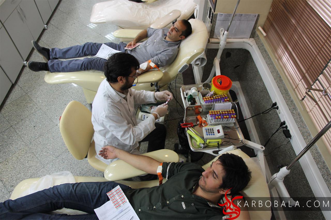 گالری عکس از اهدای خون هموطنان عزیز در مناسبتهای مذهبی