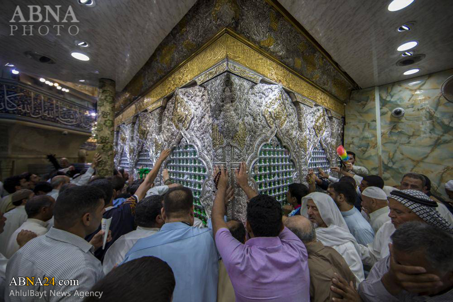 گزارش تصویری از حرم امام حسین (ع) در روز عرفه