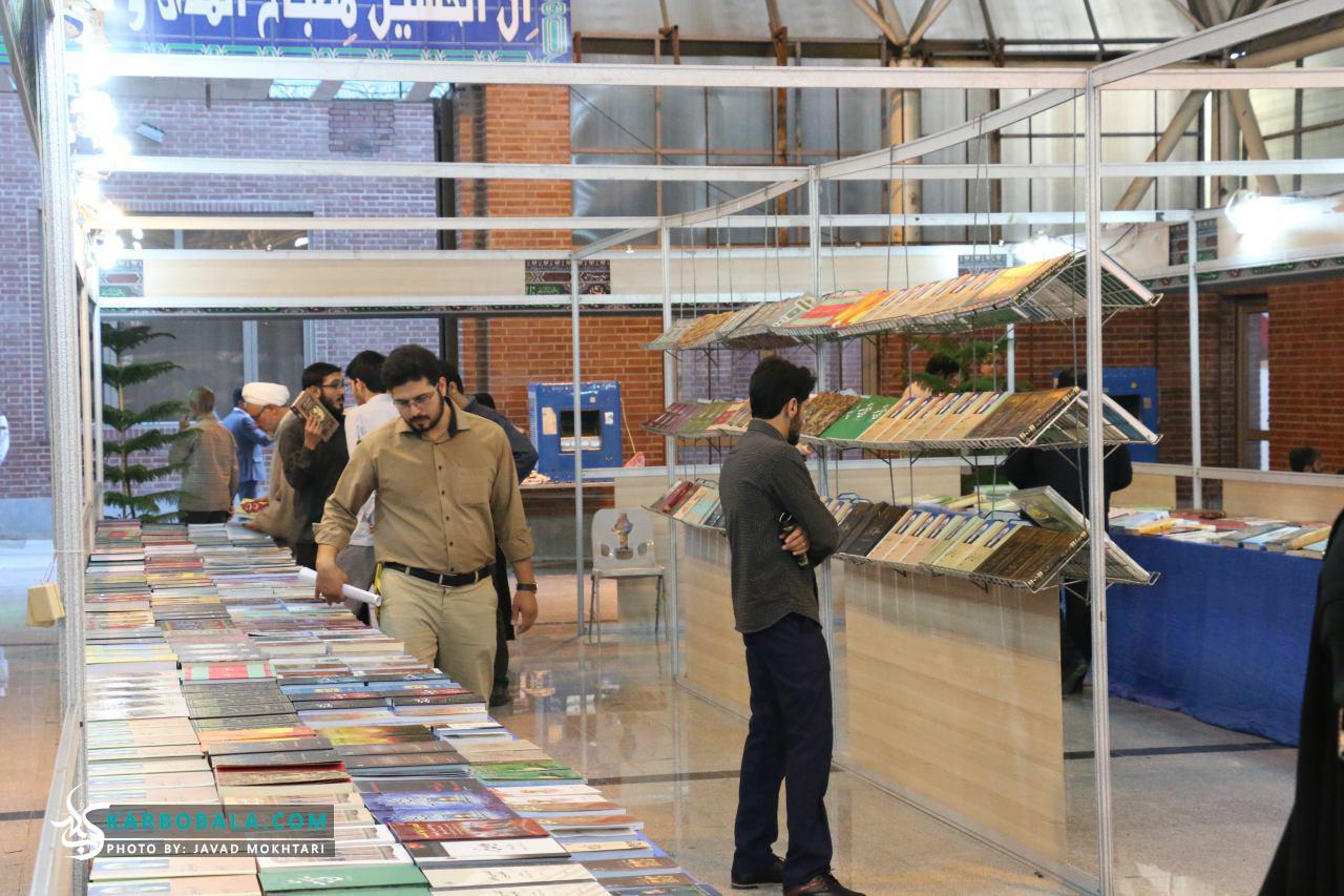 گزارش تصویری از آیین افتتاح نخستین نمایشگاه کتاب تخصصی عاشورا