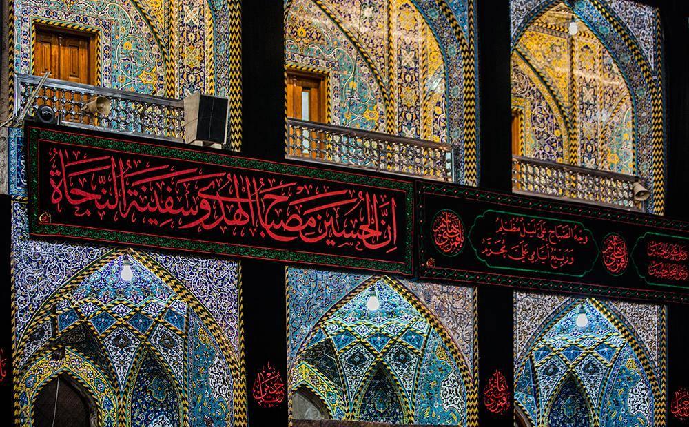 گزارش تصویری از آماده سازی حرمین مطهر حسینی و حضرت عباس (ع) به مناسبت ماه محرم