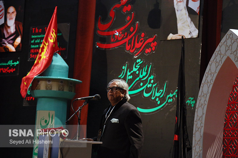 چهاردهمین اجلاس تجلیل از پیرغلامان و خادمان حسینی / گزارش تصویری