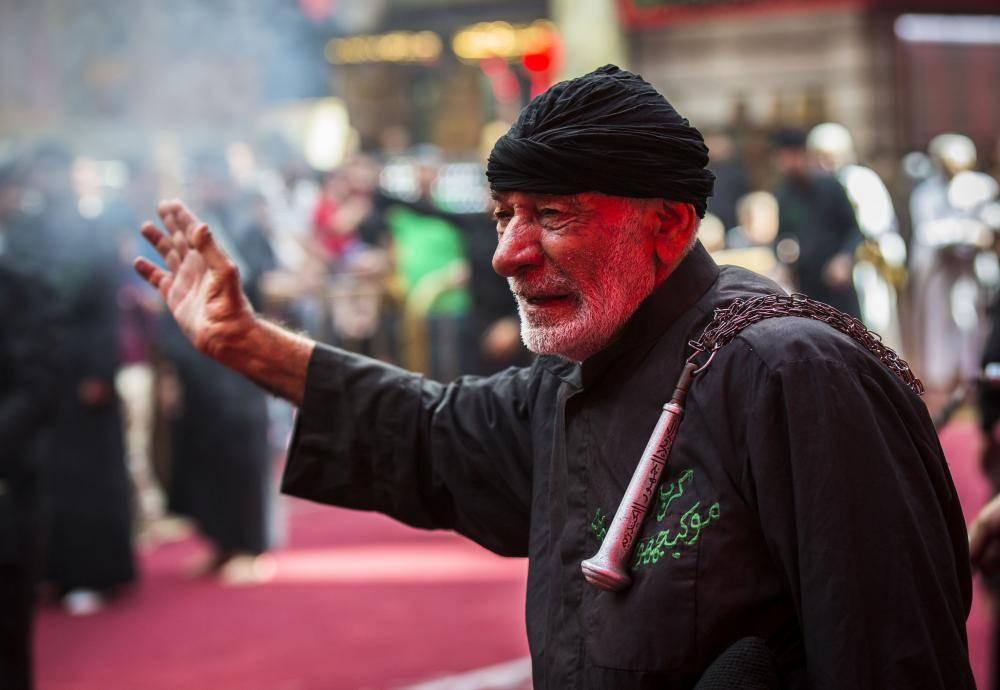 گزارش تصویری از عزاداری در حرم امام حسین (ع) و حرم حضرت عباس (ع)