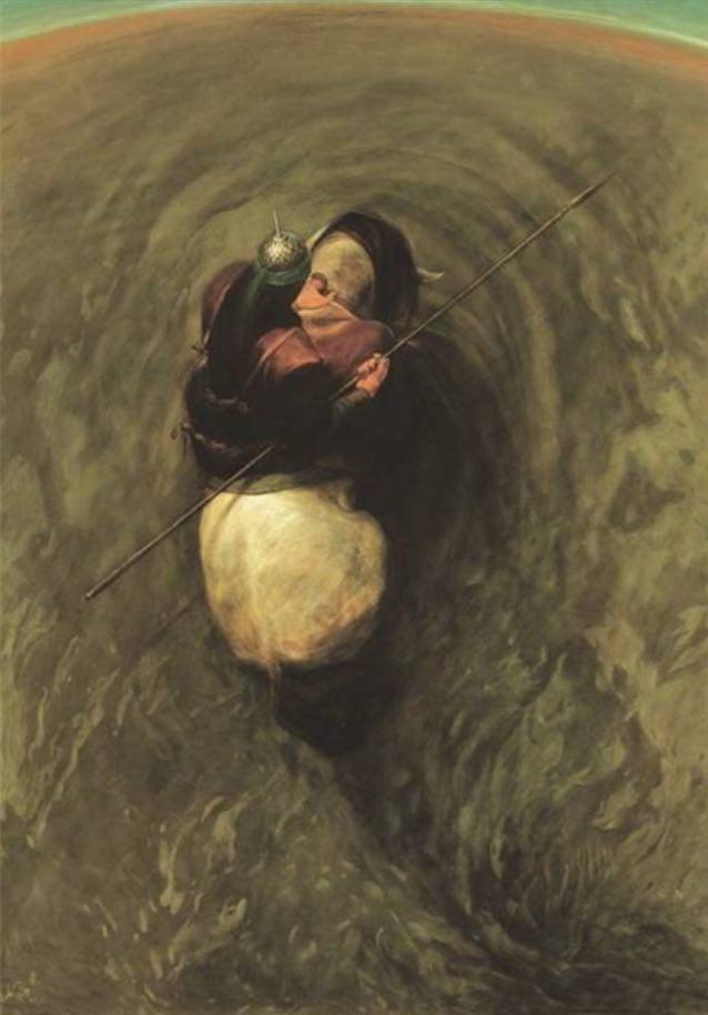 تصاویر زیبا از آثار عاشورایی حسن روح الامین