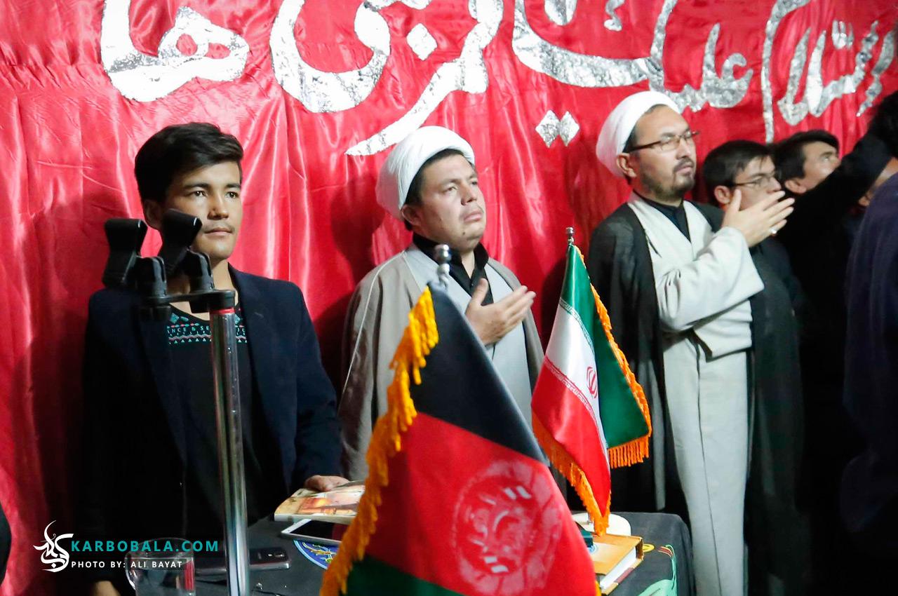 گزارش تصویری از مراسم شامغریبان امام حسین (ع) توسط افغانستانیهای مقیم تهران