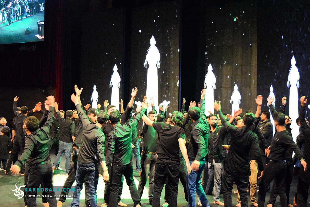 کانال تلگرام برنامه های برج میلاد گزارش تصویری از اجرای ویژه آیینهای عاشورایی ملل اسلامی در ...