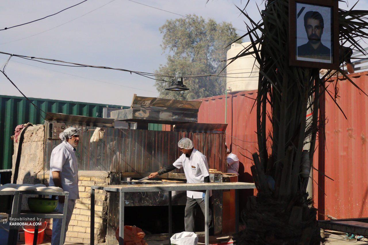 پذیرایی از زائرین اربعین در موکب امام خمینی