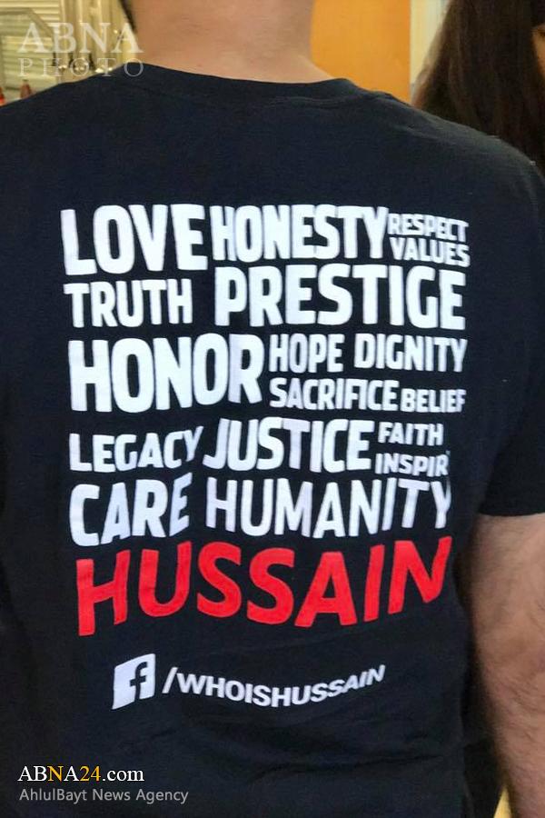 300 بیخانمان آمریکایی میهمان سازمان شیعی «حسین کیست؟» + تصاویر