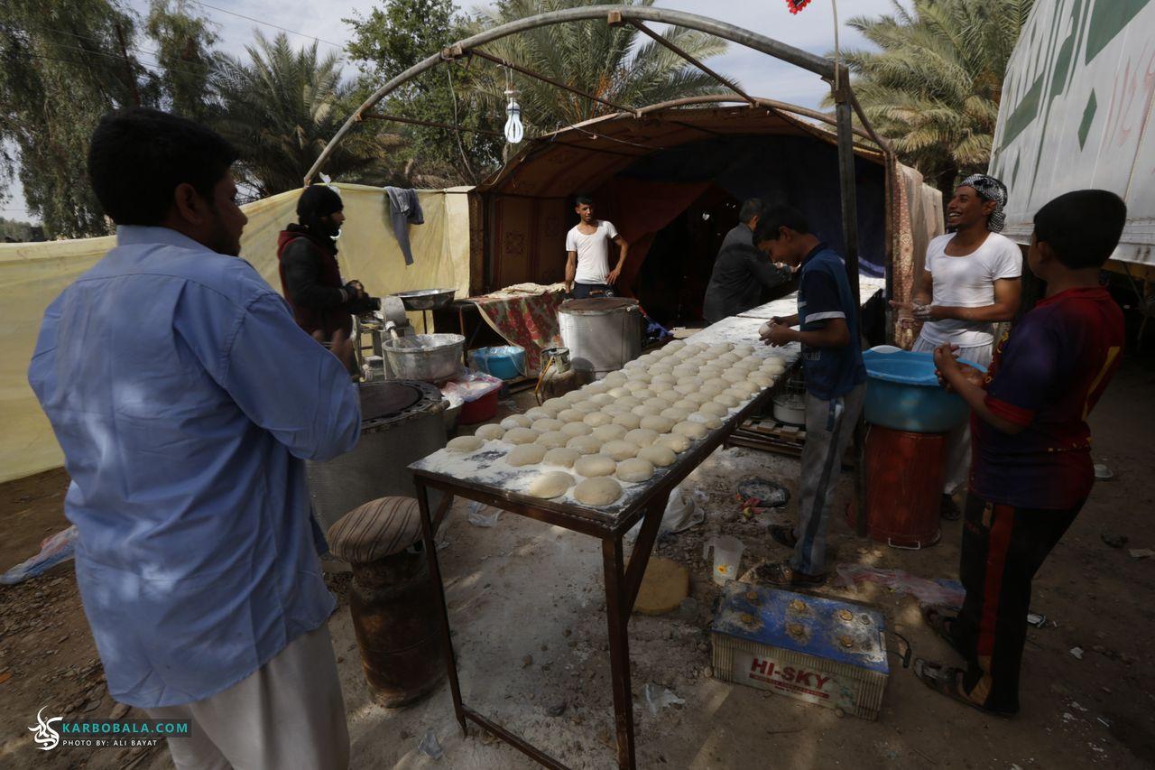 گزارش تصویری؛ خدمت رسانی موکبها برای زائرین اربعین