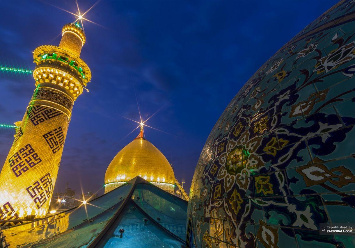 خاصترین تصاویر از حرم مطهر حضرت عباس (ع)