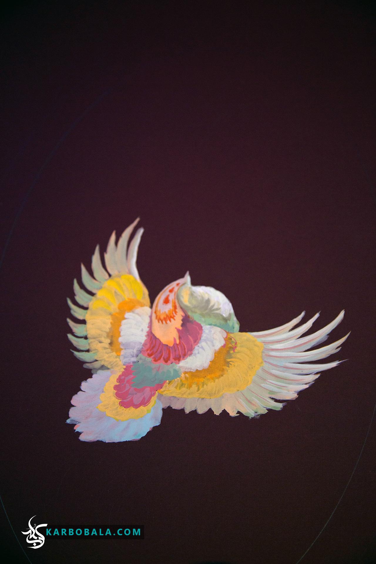 گزارش تصویری از کارگاه «گل و مرغ»