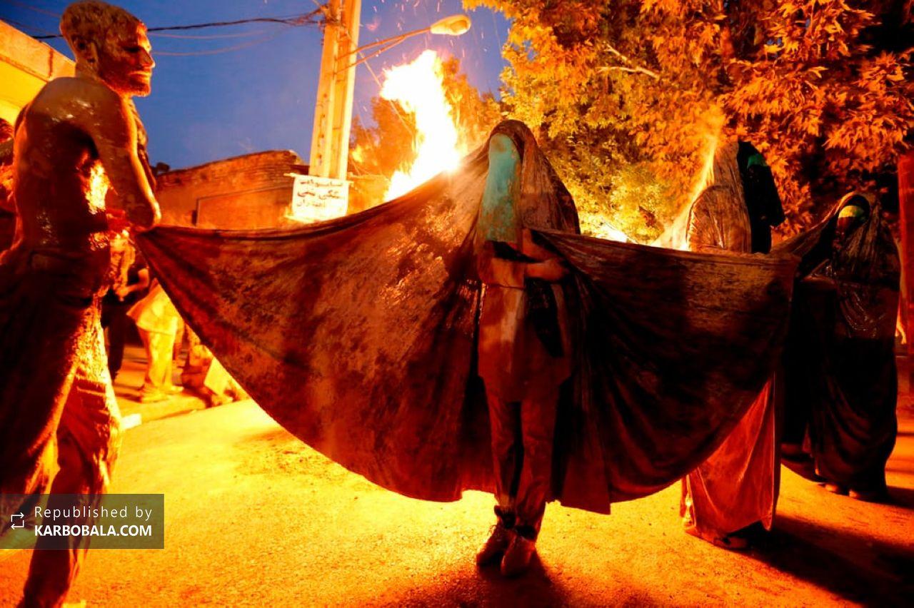 بازتاب آیین عزاداری خرمآباد در روزنامه گاردین