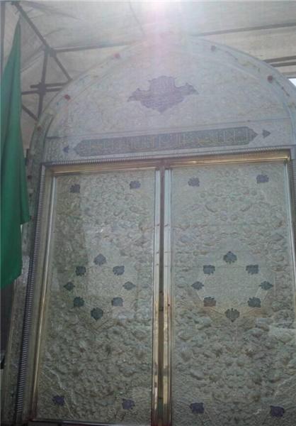 درب های تازه ساخت بارگاه حضرت مسلم (ع)
