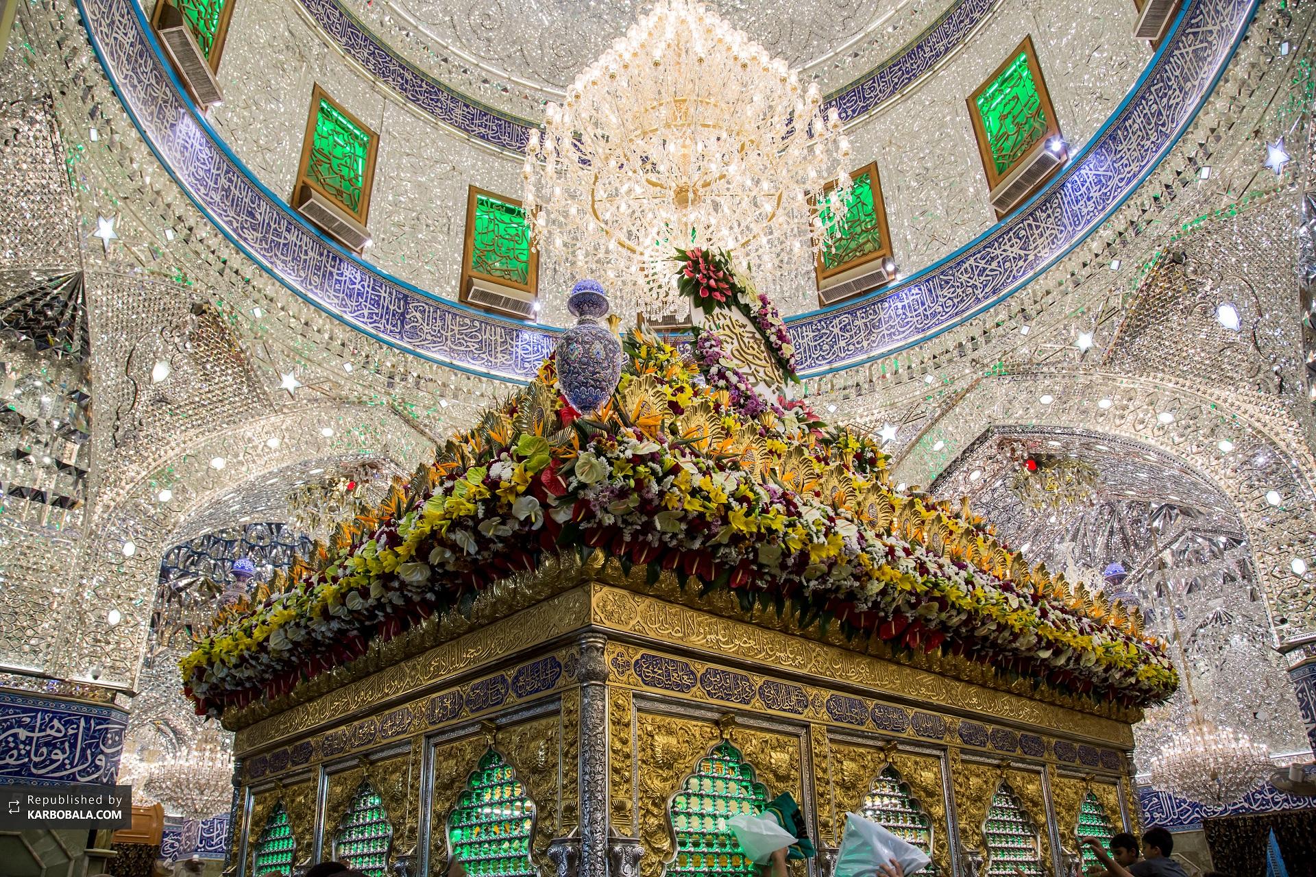 گزارش تصویری پایگاه تخصصی امام حسین (ع) از کربلای معلی: