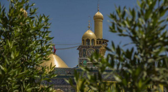 محفل انس با قرآن کریم در صحن مطهر حضرت عباس (ع)