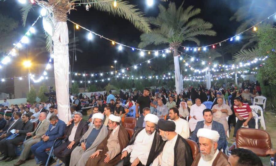 جشنواره دینی میلاد امام حسن (ع) در شهر حله عراق