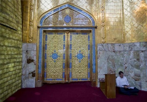 سنگفرش حرم حضرت عباس (ع) از رواق باب القبله