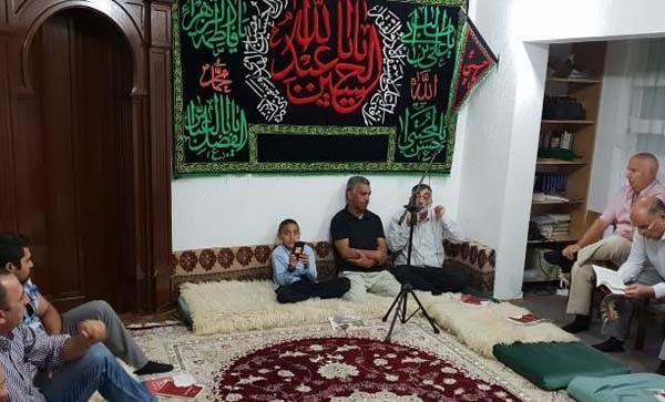 مراسم عزاداری امام حسین (ع) در شهر پریزرن