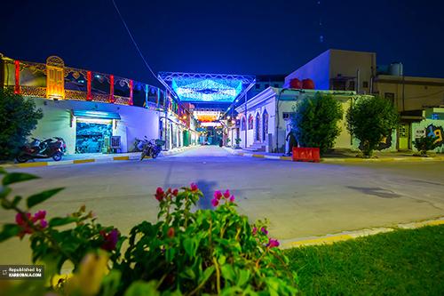 زیباسازی خیابانها و معابر منتهی به حرم امام حسین (ع)/ گزارش تصویری