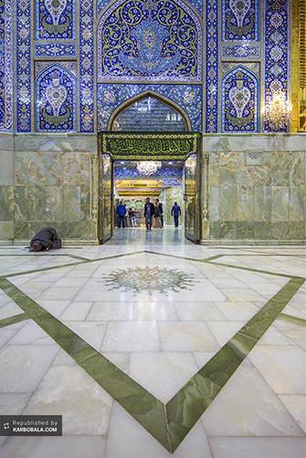گزارش تصویری از صحن و سرای اباعبدالله الحسین (ع)
