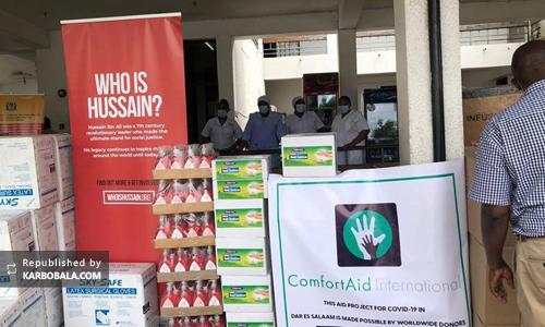 گزارش تصویری؛ حضور اعضای جمعیت «حسین کیست؟» در تانزانیا