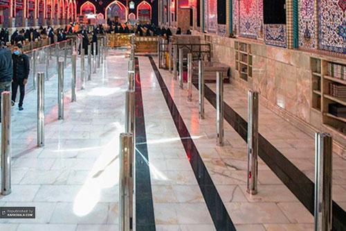 آماده سازی حرم مطهر سیدالشهداء(ع) برای مراسم اربعین/ گزارش تصویری