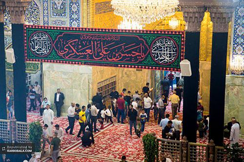 حال و هوای کربلا در سالروز شهادت امام حسن عسکری (ع)/ گزارش تصویری
