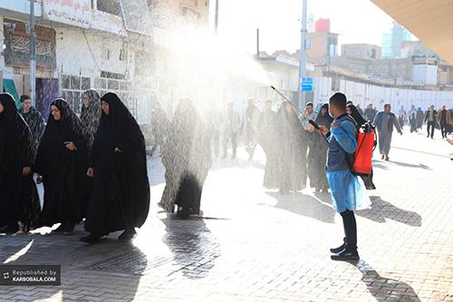 سامرا در سالروز شهادت امام هادی (ع) / گزارش تصویری