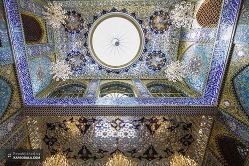 جلوه معماری اسلامی در حرم مطهر سیدالشهدا (ع) / گزارش تصویری