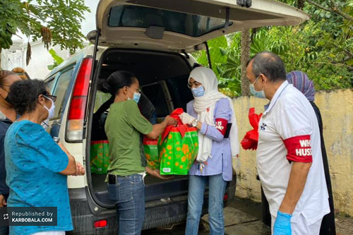 کمکرسانی سازمان «حسین کیست؟» به نیازمندان جزیره موریس / گزارش تصویری