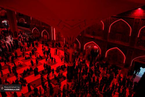 عزاداری گسترده شیعیان در نجف اشرف / گزارش تصویری