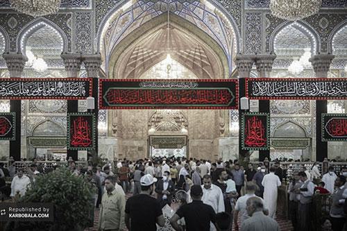 شب بیست و سوم رمضان در جوار حرم سیدالشهدا (ع) / گزارش تصویری