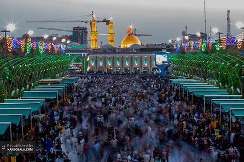 کربلای معلی در شب و روز عید قربان / گزارش تصویری