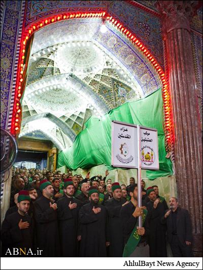 عزاداری شهادت امام هادی علیهالسلام در کربلا /گالری تصاویر