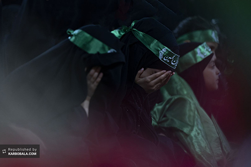 سفره ماتم حضرت رقیه (س) در بینالحرمین / گزارش تصویری