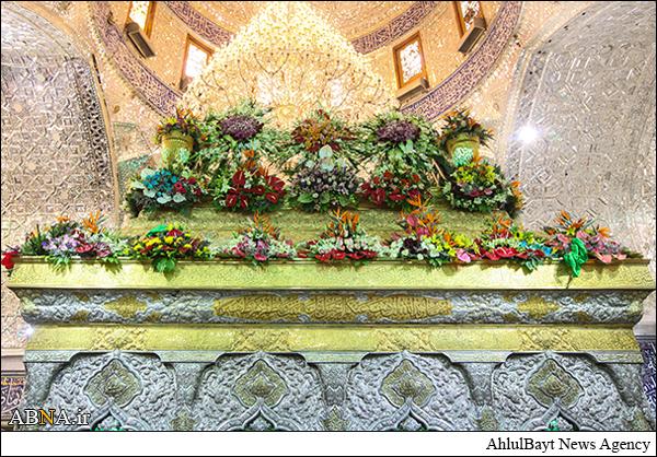 گل آرایی حرم مطهر امام حسین /گالری تصاویر