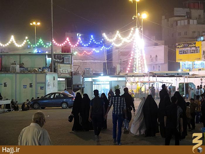 حال و هوای کربلا در شب میلاد امام حسین