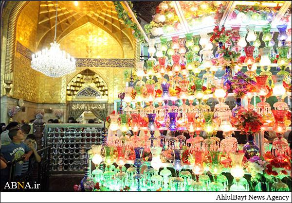 کربلا نورباران ولادت حضرت علی اکبر /تصاویر