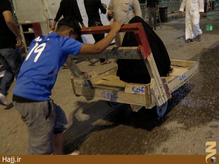 شیوه حمل و نقل زائران در کربلا