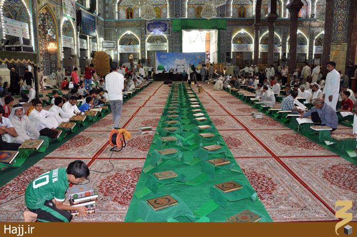 حال و هوای حرم حسینی  در رمضان/ تصاویر