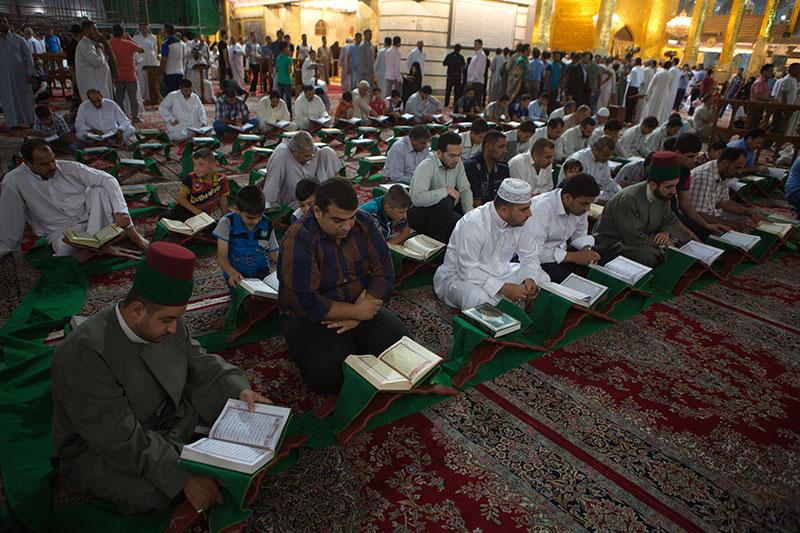 محفل قرآنی در آستان عباسی         / تصاویر