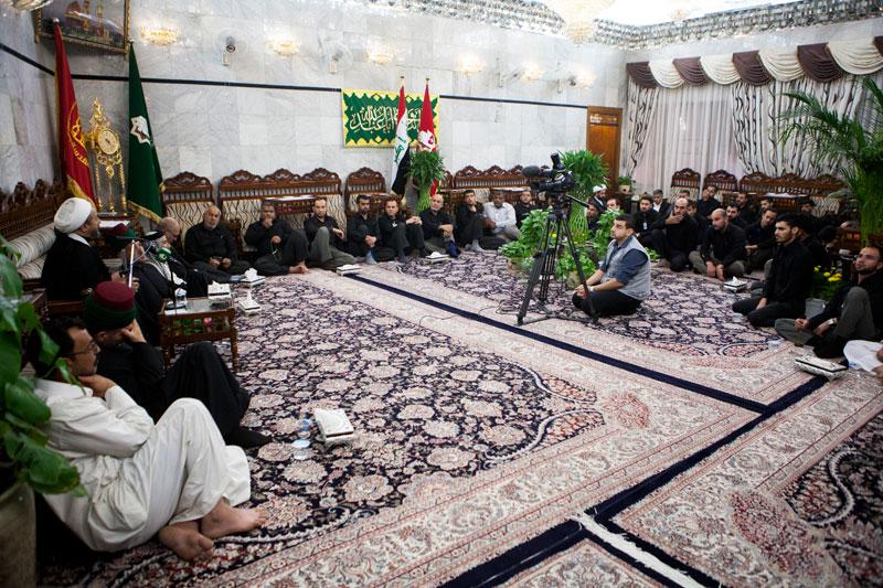 عزاداری سالروز تخریب حرم بقیع در کربلا         /تصاویر