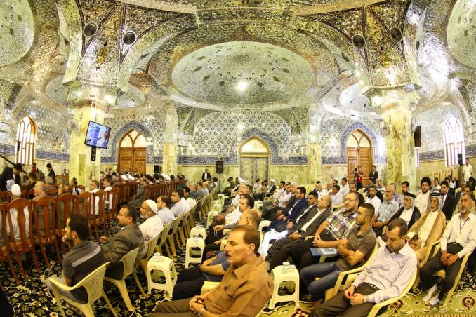 چهارمین همایش فرهنگی السفیر در مسجد کوفه