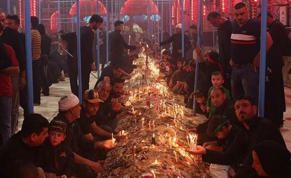 شام غریبان شهدای کربلا در بینالحرمین