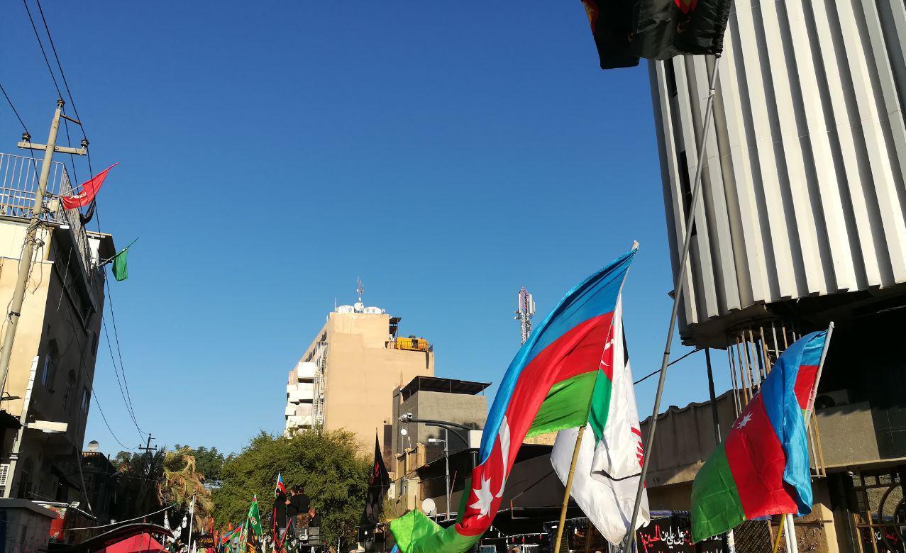 موکب عزاداران حسینی از کشور آذربایجان