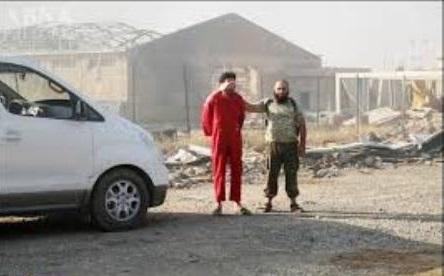 داعش چهار عضو الحشد الشعبی عراق را زنده سوزاند