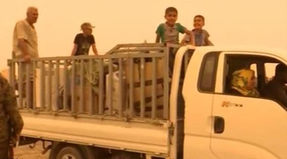 بازگشت مردم شهر «الدور» عراق به خانههایشان