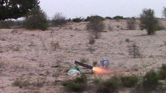حمله موشکی داعش به پادگان ارتش مصر