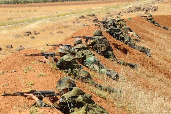 تسلط ارتش سوریه بر میادین نفت و گاز در شرق حمص