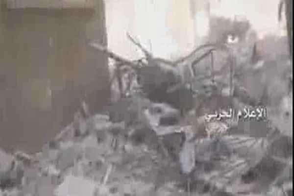 حملات خمپاره ای تروریست ها به دمشق