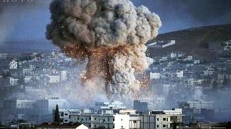 حمله موشکى نیروهای حشد الشعبی به مقر داعشیها